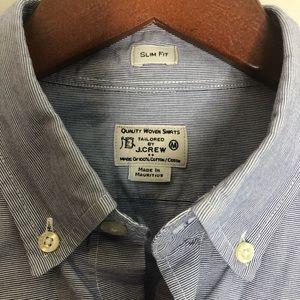 J. Crew Slim Fit Cotton Button Down Shirt